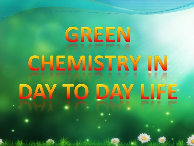 introduction to green chemistry pdf