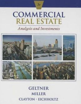 commercial real estate analysis and investments geltner pdf